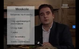 053 Moskale – placki pieczone na blasze bez tluszczu | Wędrówka Dolina pięciu smaków | Podróże kulinarne Roberta Makłowicza