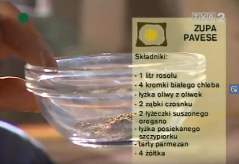 060 Zupa pavese | Wędrówka Ojcowski smak | Podróże kulinarne Roberta Makłowicza