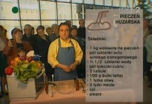062 Pieczeń huzarska | Wędrówka Krynicki smak | Podróże kulinarne Roberta Makłowicza