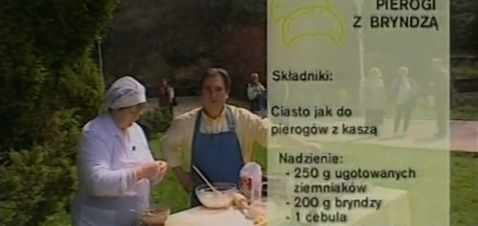 062 Pierogi z bryndzą - ruskie pierogi | Wędrówka Krynicki smak | Podróże kulinarne Roberta Makłowicza