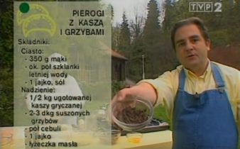 062 Pierogi z kaszą i grzybami | Wędrówka Krynicki smak | Podróże kulinarne Roberta Makłowicza