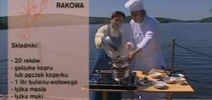 063 Zupa rakowa | Wędrówka Kaszubski smak | Podróże kulinarne Roberta Makłowicza