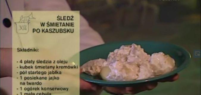 064 Śledź w śmietanie po kaszubsku | Wędrówka Smak morski | Podróże kulinarne Roberta Makłowicza