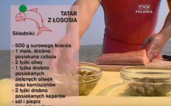 064 Tatar z łososia | Wędrówka Smak morski | Podróże kulinarne Roberta Makłowicza