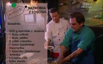 064 Wątróbka z łososia | Wędrówka Smak morski | Podróże kulinarne Roberta Makłowicza