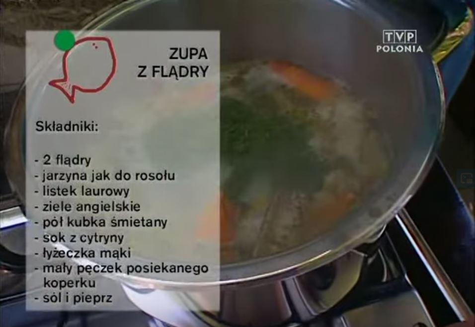 064 Zupa z flądry | Wędrówka Smak morski | Podróże kulinarne Roberta Makłowicza
