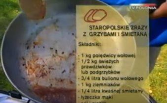 065 Staropolskie zrazy z grzybami i śmietaną | Wędrówka Smak Soplicowa | Podróże kulinarne Roberta Makłowicza