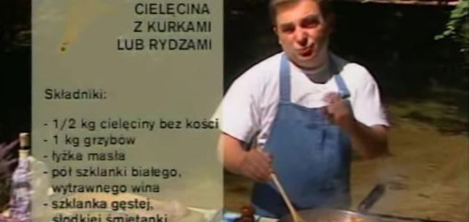 066 Cielęcina z kurkami lub rydzami | Wędrówka Smak grzybów | Podróże kulinarne Roberta Makłowicza