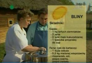 067 Bliny | Wędrówka Smak małej Litwy | Podróże kulinarne Roberta Makłowicza