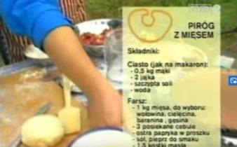 068 Piróg z mięsem | Wędrówka Tatarski smak | Podróże kulinarne Roberta Makłowicza