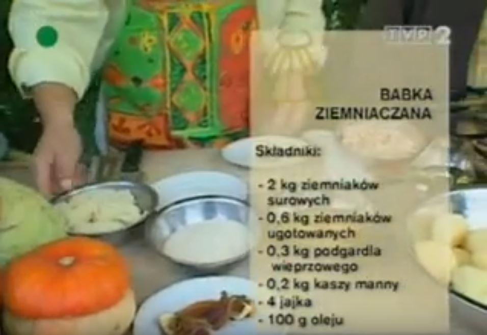 069 Babka ziemniaczana | Wędrówka Knyszyński smak | Podróże kulinarne Roberta Makłowicza