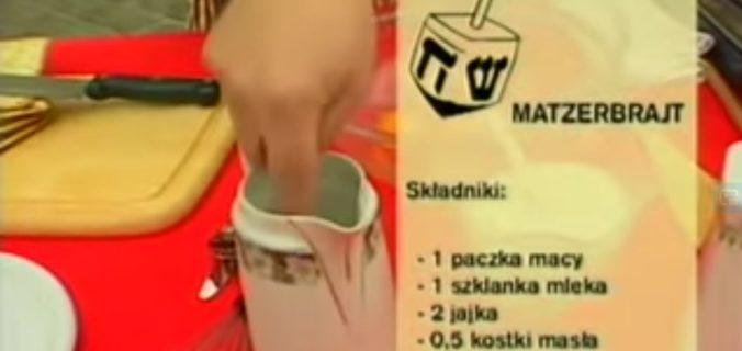 070 Matzerbrajt | Wędrówka Koszerny smak | Podróże kulinarne Roberta Makłowicza