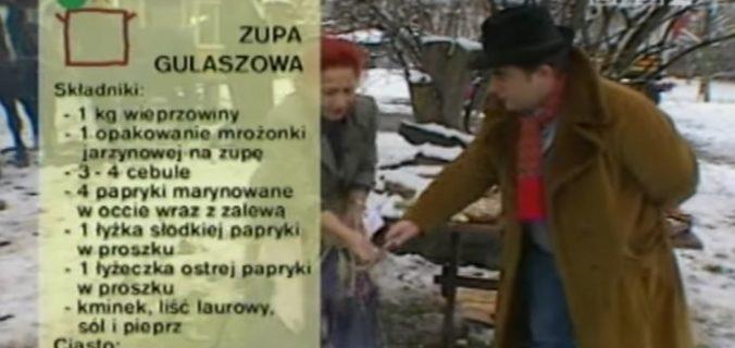 071 Cygańska zupa gulaszowa | Wędrówka Cygański smak | Podróże kulinarne Roberta Makłowicza