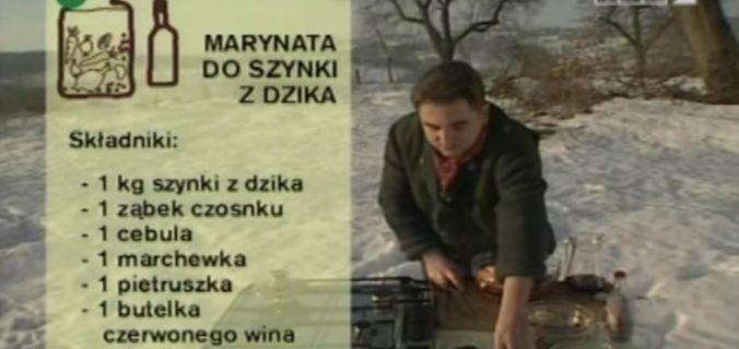 072 Marynata do szynki z dzika | Wędrówka Myśliwski smak | Podróże kulinarne Roberta Makłowicza