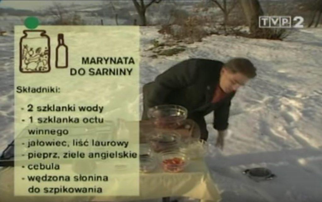 072 Marynata do sarniny | Wędrówka Myśliwski smak | Podróże kulinarne Roberta Makłowicza