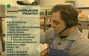 073 Hamburger pikantny   Wędrówka Smak XX wieku   Podróże kulinarne Roberta Makłowicza