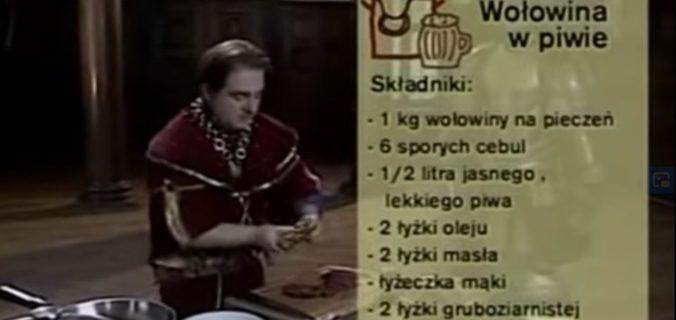 074 Wołowina duszona w piwie | Wędrówka Dworski smak | Podróże kulinarne Roberta Makłowicza