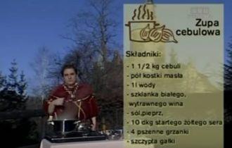 074 Zupa cebulowa | Wędrówka Dworski smak | Podróże kulinarne Roberta Makłowicza
