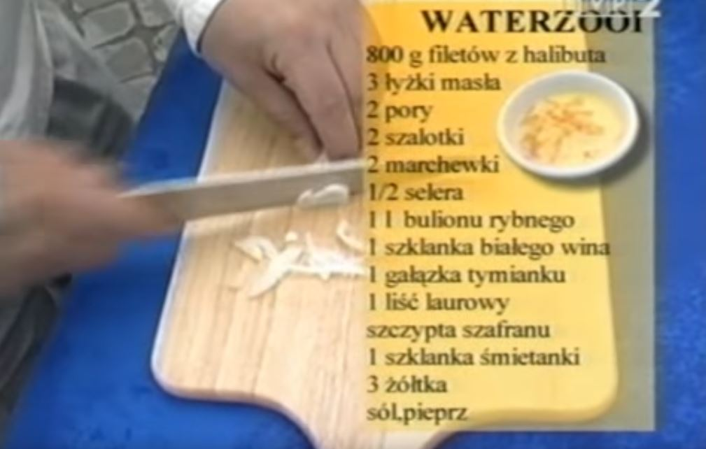 Waterzooi | Wędrówka kulinarna 151 Flamandzki Smak | Podróże kulinarne Roberta Makłowicza