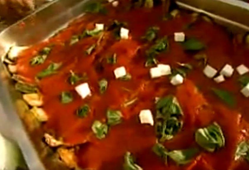 Tort z cukinii | Wędrówka kulinarna 221 Smak toskańskiej prowincji | Podróże kulinarne Roberta Makłowicza Przepisy