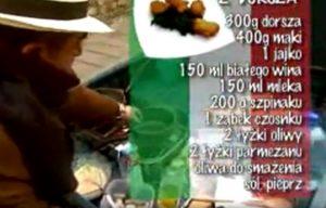 Racuszki z dorsza | Wędrówka kulinarna 266 Toskański smak | Podróże kulinarne Roberta