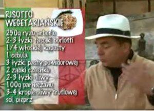 Risotto wegetariańskie | Wędrówka kulinarna 266 Toskański smak | Podróże kulinarne Roberta Makłowicza