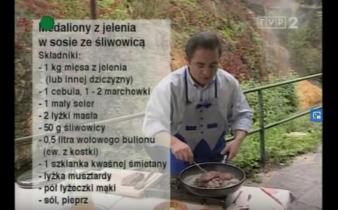 054 Medaliony z jelenia w sosie ze śliwowicą | Wędrówka Smak Słowacji | Podróże kulinarne Roberta Makłowicza