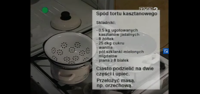 054 Tort kasztanowy | Wędrówka Smak Słowacji | Podróże kulinarne Roberta Makłowicza