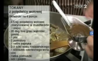055 Tokany z polędwicy wołowej | Wędrówka Smak Tokaju i Egeru | Podróże kulinarne Roberta Makłowicza