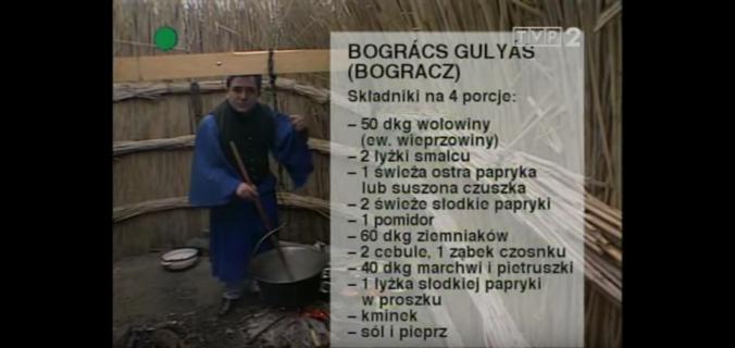 056 Gulasz węgierski – Bogracz | Wędrówka Smak Puszty | Podróże kulinarne Roberta Makłowicza