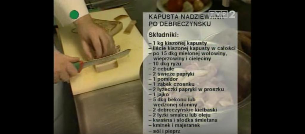 056 Kapusta nadziewana po debreczyńsku | Wędrówka Smak Puszty | Podróże kulinarne Roberta Makłowicza