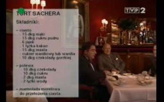 057 Tort Sachera | Wędrówka Najjaśniejszy smak | Podróże kulinarne Roberta Makłowicza