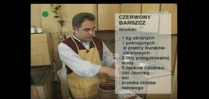 058 Czerwony Barszcz | Wędrówka Staropolskim smakiem | Podróże kulinarne Roberta Makłowicza