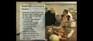 058 Pasztet z zająca | Wędrówka Staropolskim smakiem | Podróże kulinarne Roberta Makłowicza