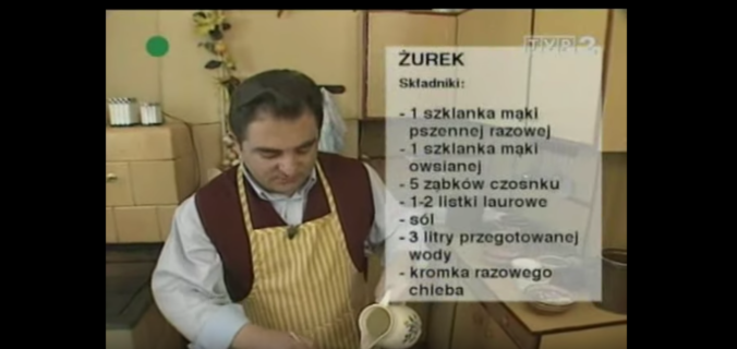 058 Żurek | Wędrówka Staropolskim smakiem | Podróże kulinarne Roberta Makłowicza