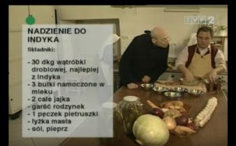 058 Nadzienie do indyka | Wędrówka Staropolskim smakiem | Podróże kulinarne Roberta Makłowicza