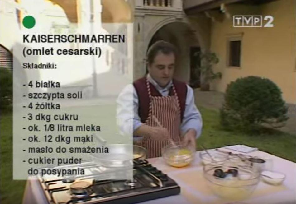 059 Kaiserschmarren (omlet cesarski) | Wędrówka Cesarski smak | Podróże kulinarne Roberta Makłowicza