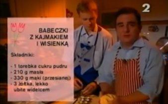 060 Babeczki z kajmakiem i wisienką | Wędrówka Karnawał ze smakiem | Podróże kulinarne Roberta Makłowicza