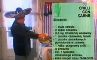 060 Chilli con carne | Wędrówka Karnawał ze smakiem | Podróże kulinarne Roberta Makłowicza