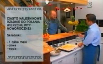 060 Ciasto naleśnikowe do polania pity | Wędrówka Karnawał ze smakiem | Podróże kulinarne Roberta Makłowicza