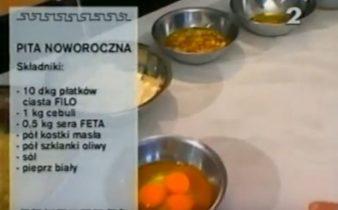 060 Pita noworoczna | Wędrówka Karnawał ze smakiem | Podróże kulinarne Roberta Makłowicza