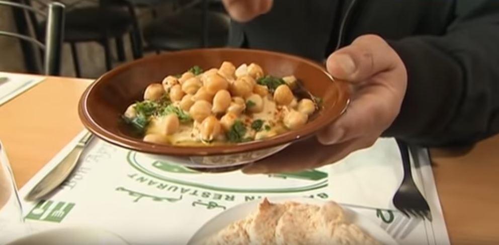 Hummus z ciecierzycy | Wędrówka kulinarna 027 Izrael Jerozolima | Podróże kulinarne Roberta Makłowicza Przepisy