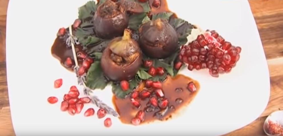 Figi nadziewane mięsem z kurczaka w sosie tamaryndowym | Wędrówka kulinarna 027 Izrael Jerozolima | Podróże kulinarne Roberta Makłowicza Przepisy