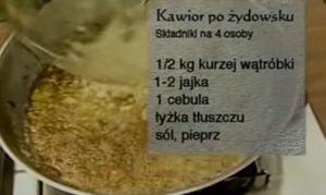 Kawior po żydowsku | Wędrówka kulinarna 052 Smak wawelski | Podróże kulinarne Roberta Makłowicza Przepisy